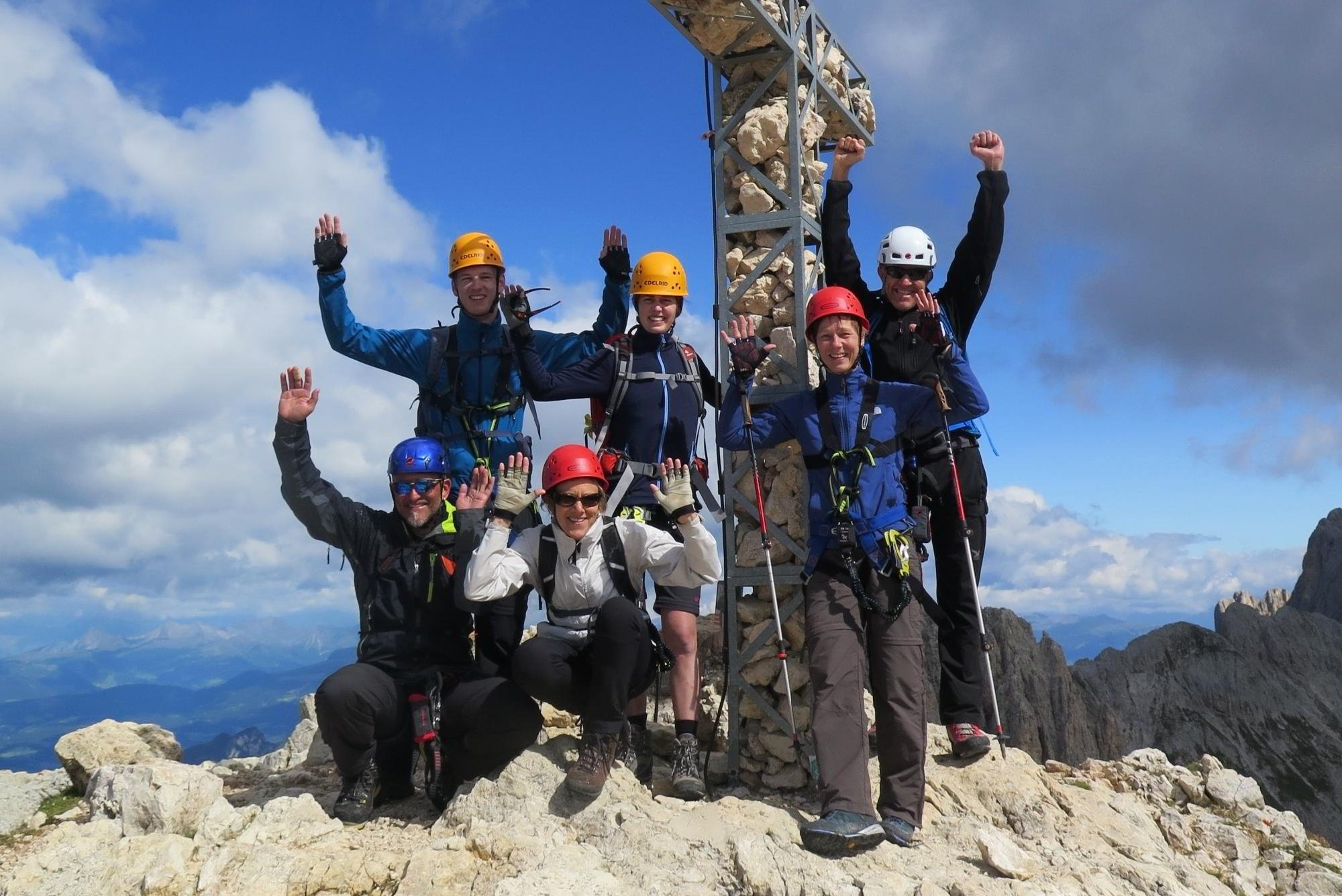 Klettersteig Rosengarten : Traum klettersteige im rosengarten in den dolomiten