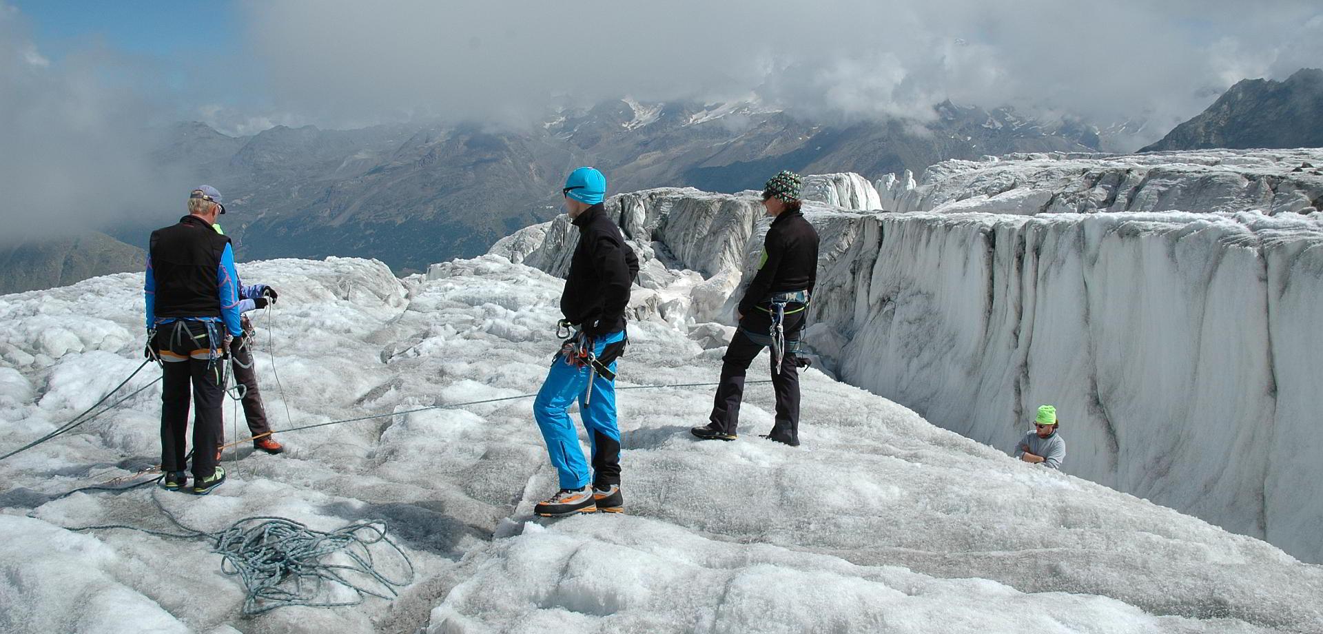 Gletscherkurs Alphubel/Saas Fee