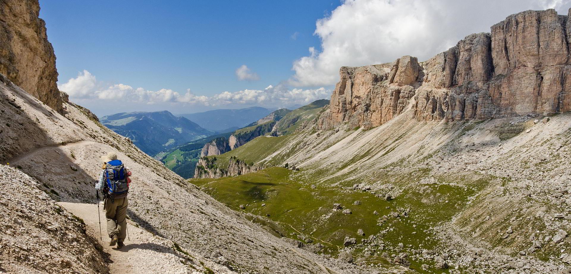 Alta Via wandern