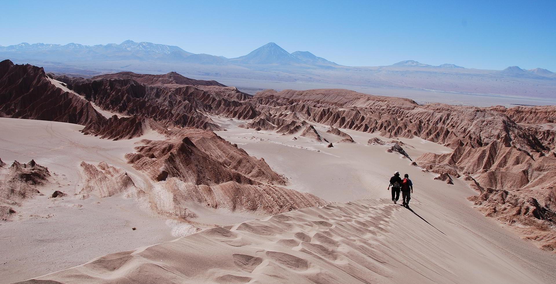 bei San Pedro Chile Atacama-Wüste