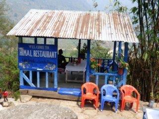 Nepal Trekking Annapurna BC Himal Restaurant