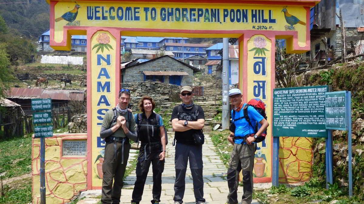 Nepal Trekking Annapurna BC Ghorepani