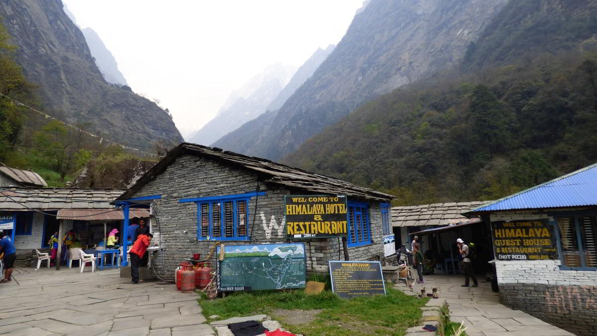 Nepal Trekking ABC Trek Lodges