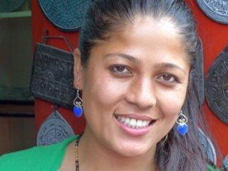 Nepal Trekking Kathmandu Schmuckverkäuferin