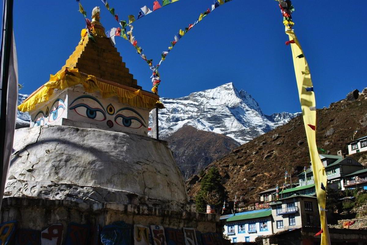 Nepal Trekking Khumbu Stupa