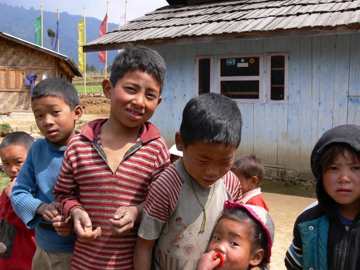 Nepal Trekking Kinder
