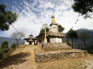 Nepal Trekking Stupa