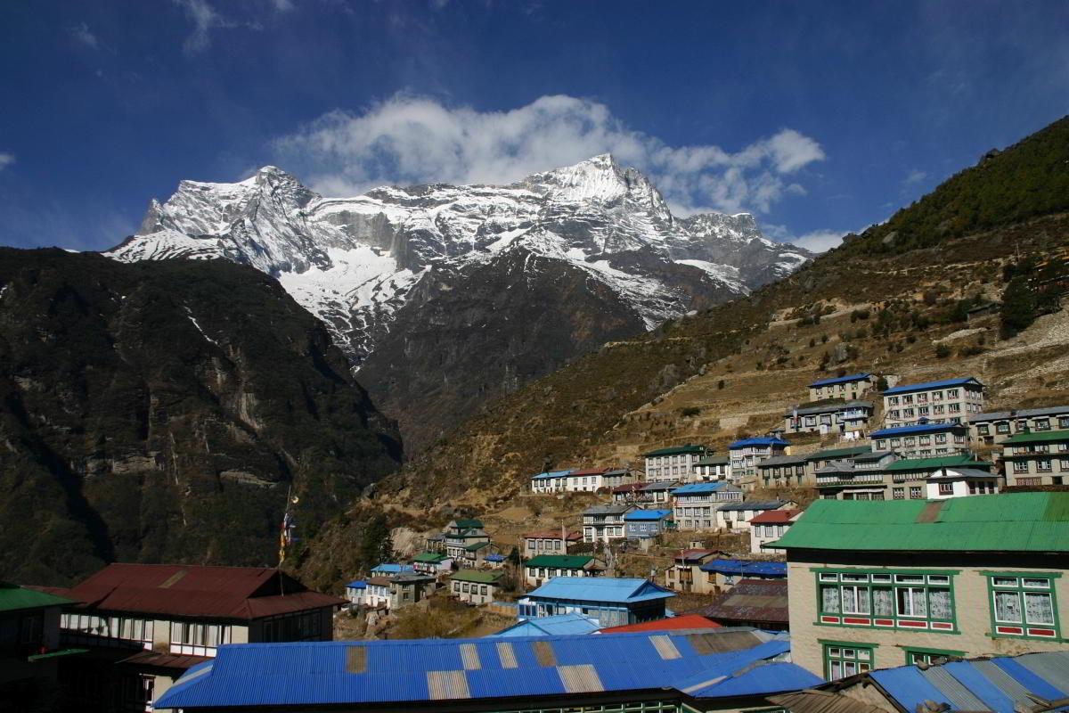 Nepal Trekking Khumbu Namche Bazar