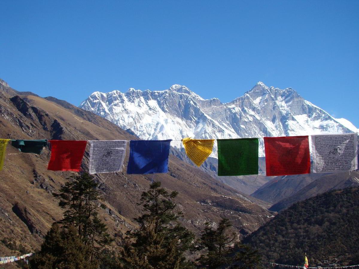 Nepal Trekking Windpferde