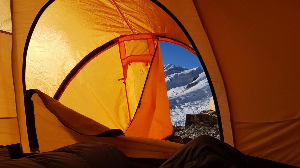 Nepal Trekking Mera-Peak Zelt