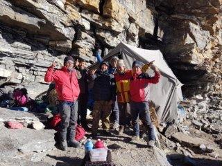 Nepal Trekking Mera-Peak Hochlager