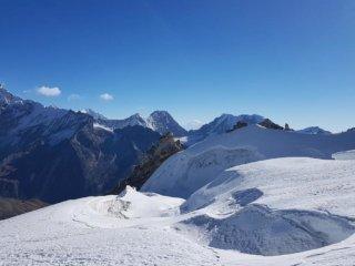 Nepal Trekking Mera-Peak Gletscher2