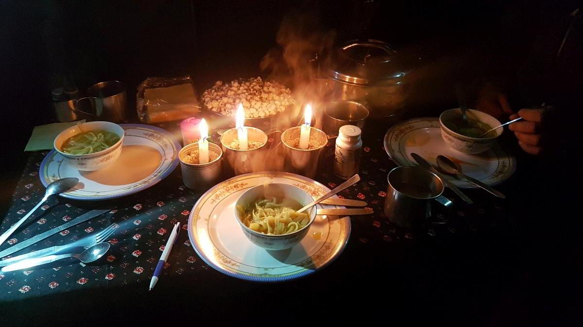 Nepal Trekking Diner