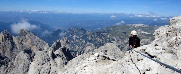 Klettersteig mit Bergführer