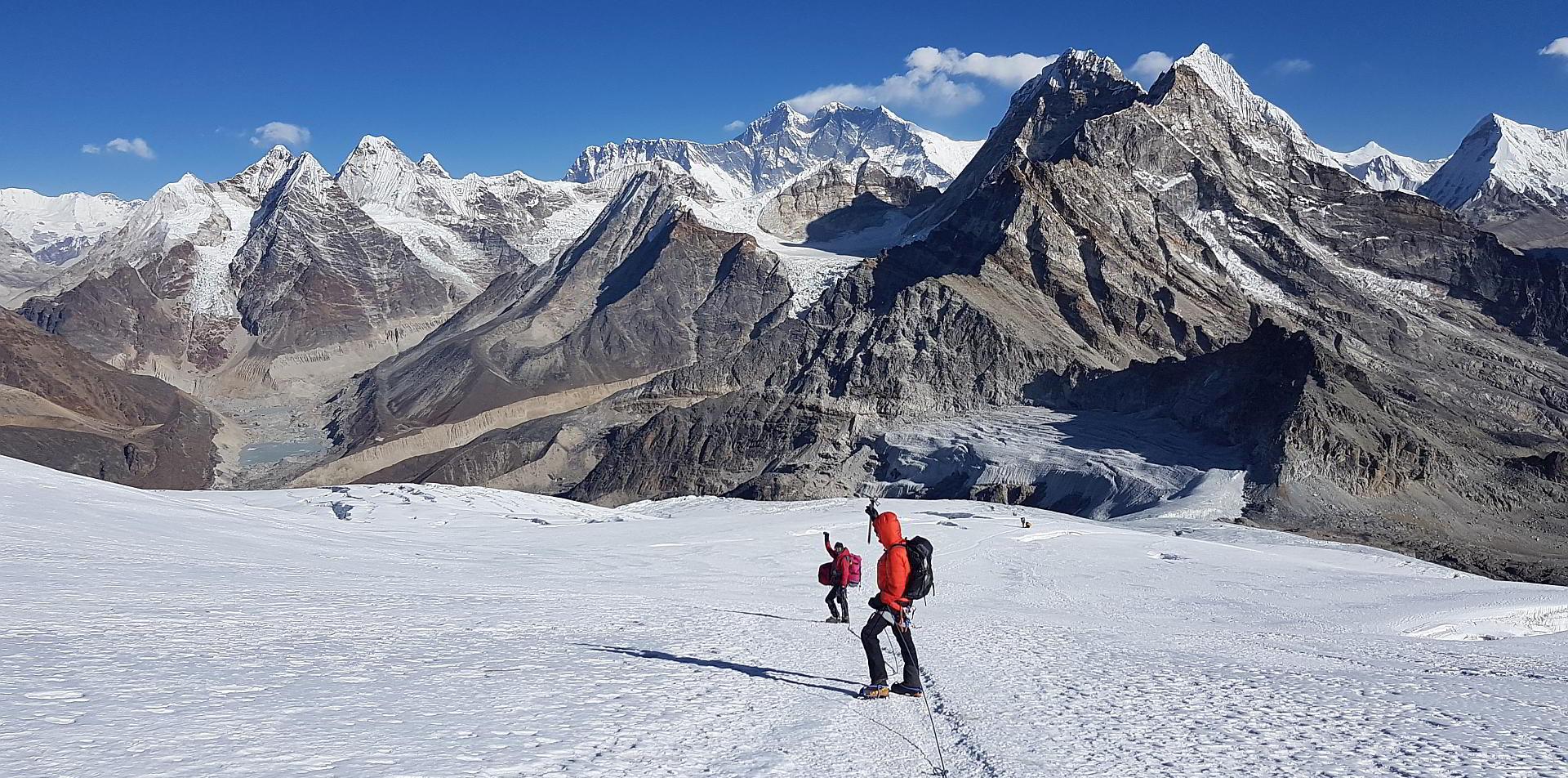 Mera Peak Blick auf Everest