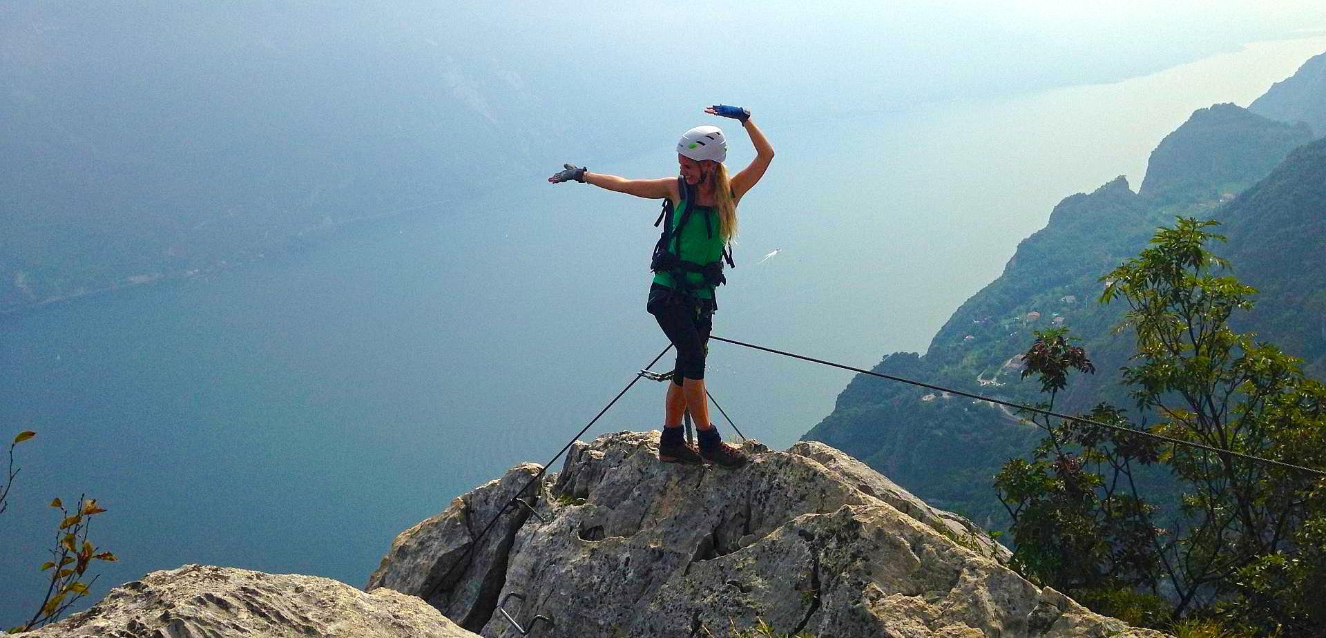 Gardasee Klettersteige