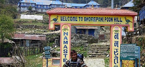 Ghorepani Nepal