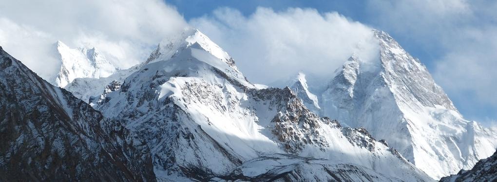 K2 basecamp trekking