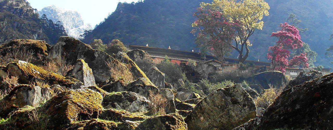 Trekking zum Kangchendzönga