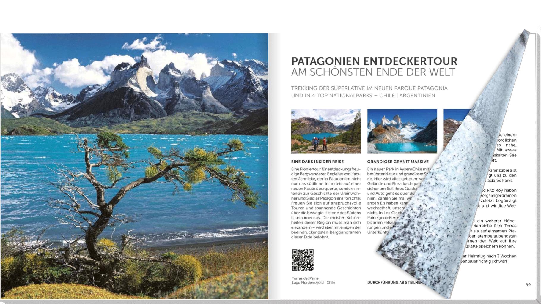 Vorschau Patagonien Trek