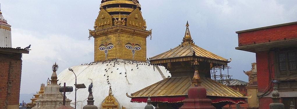 Nepal: Kathmandu-Swayambhunath