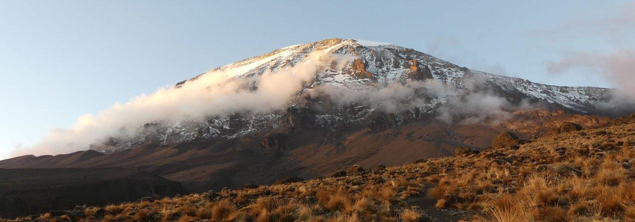 Wolken am Kilimanjaro