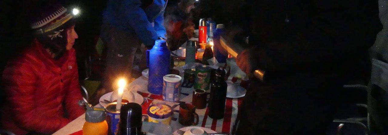 Frühstart zum Kilimanjaro