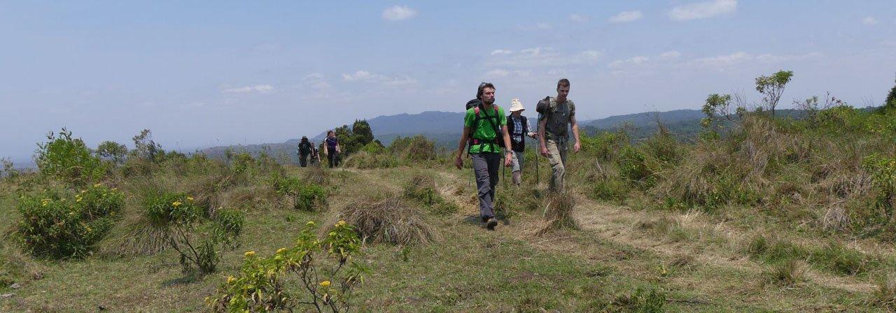 Trek zum Mount Meru