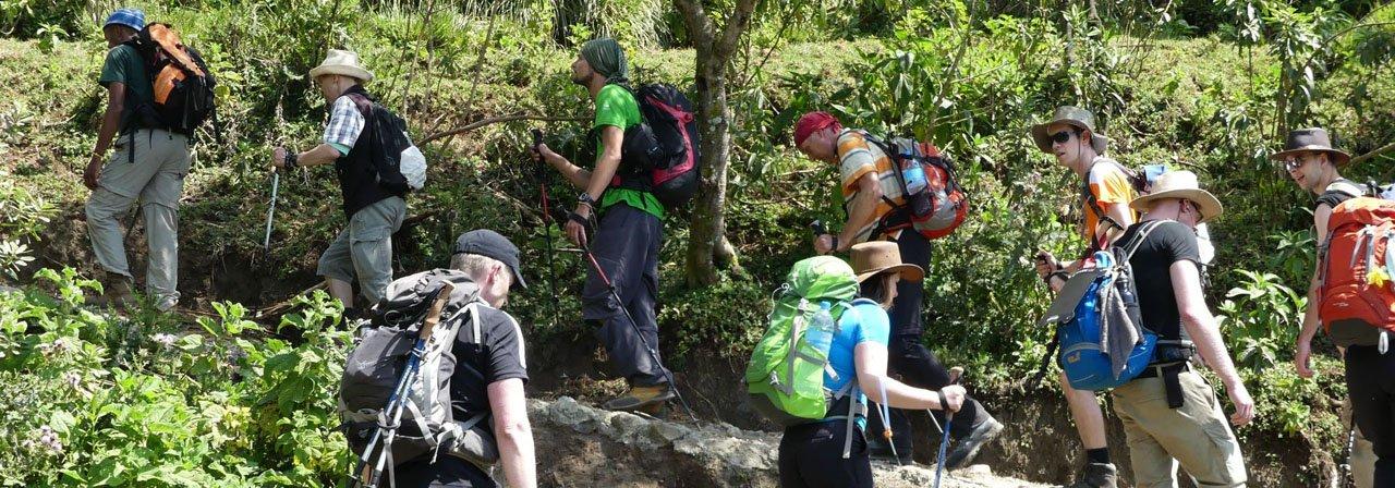 Aufstieg Mt. Meru