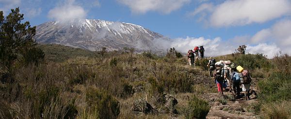 Kilimanjaro-Aufstieg