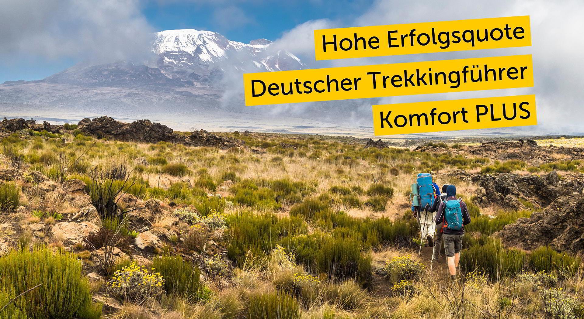 Kilimanjaro besteigen: Shira-Plateau