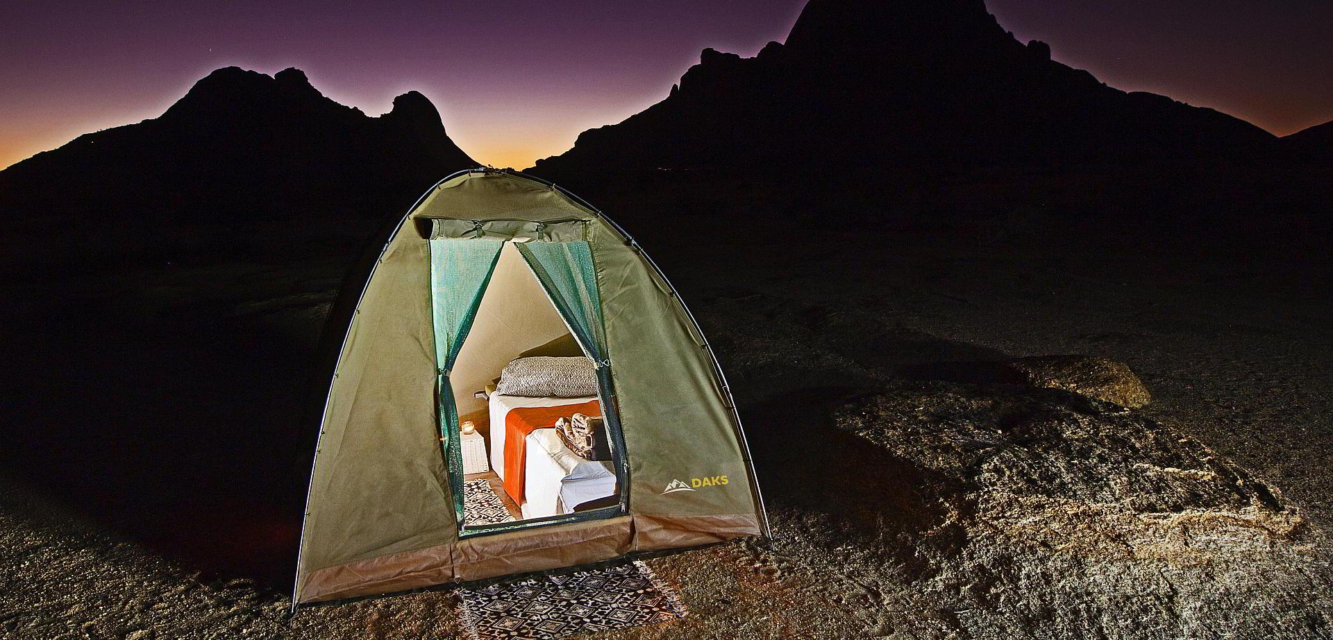 Kilimanjaro mit Komfort