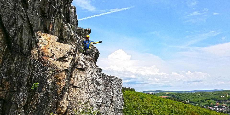 Klettersteigkurs - Kirn Oberhauser Wand