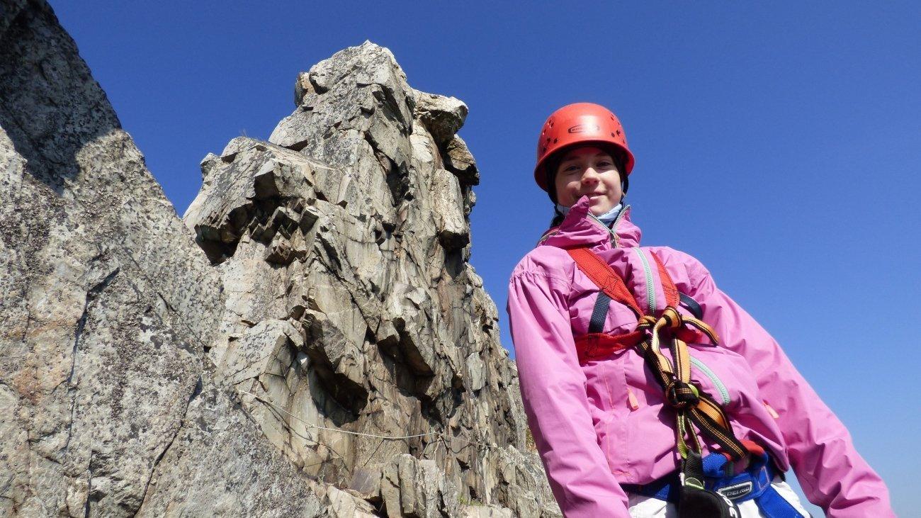 Klettersteig macht Spaß