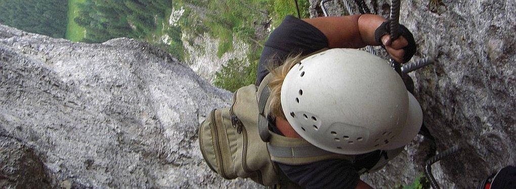 Klettersteigkurs Anfänger