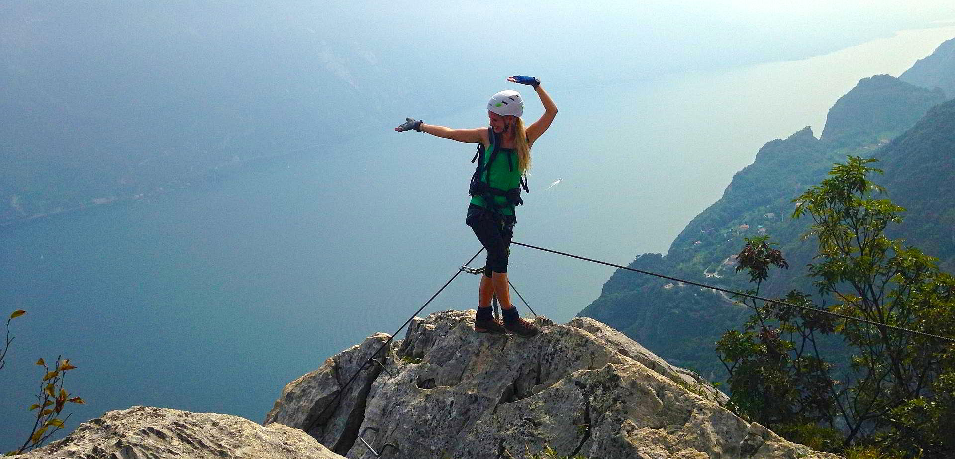 Klettersteige Gardasee