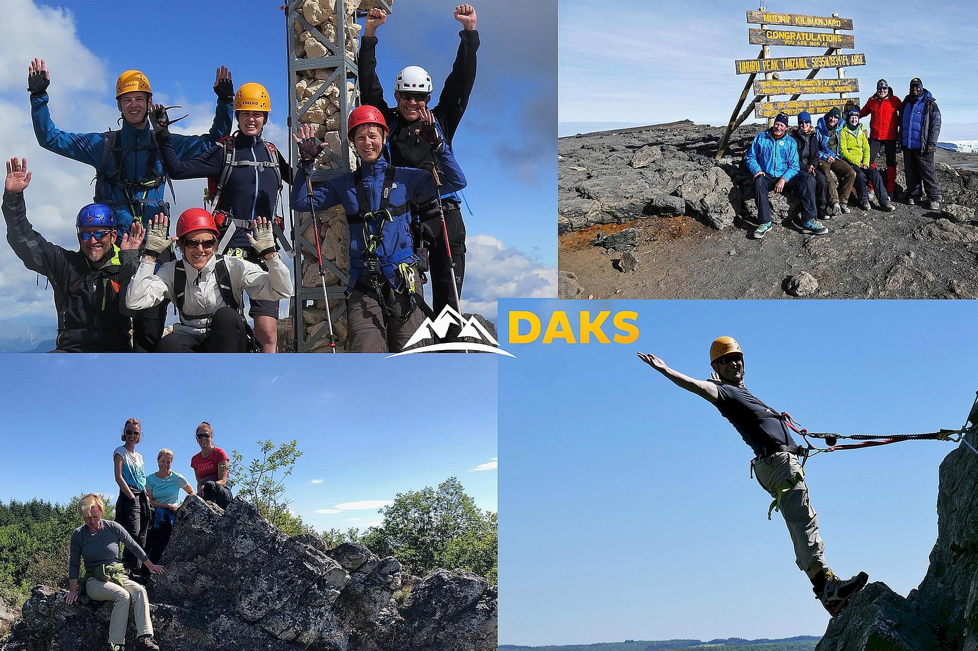 DAKS Bergreisen - Kunden Feedback