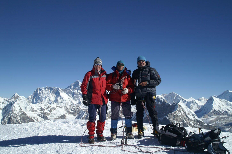 Mera Peak Gipfel