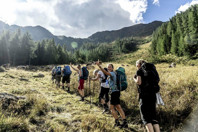 Geführte Alpen-Wanderungen