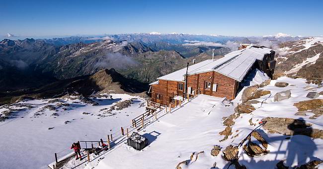 Monte Rosa Rifugio Gnifetti