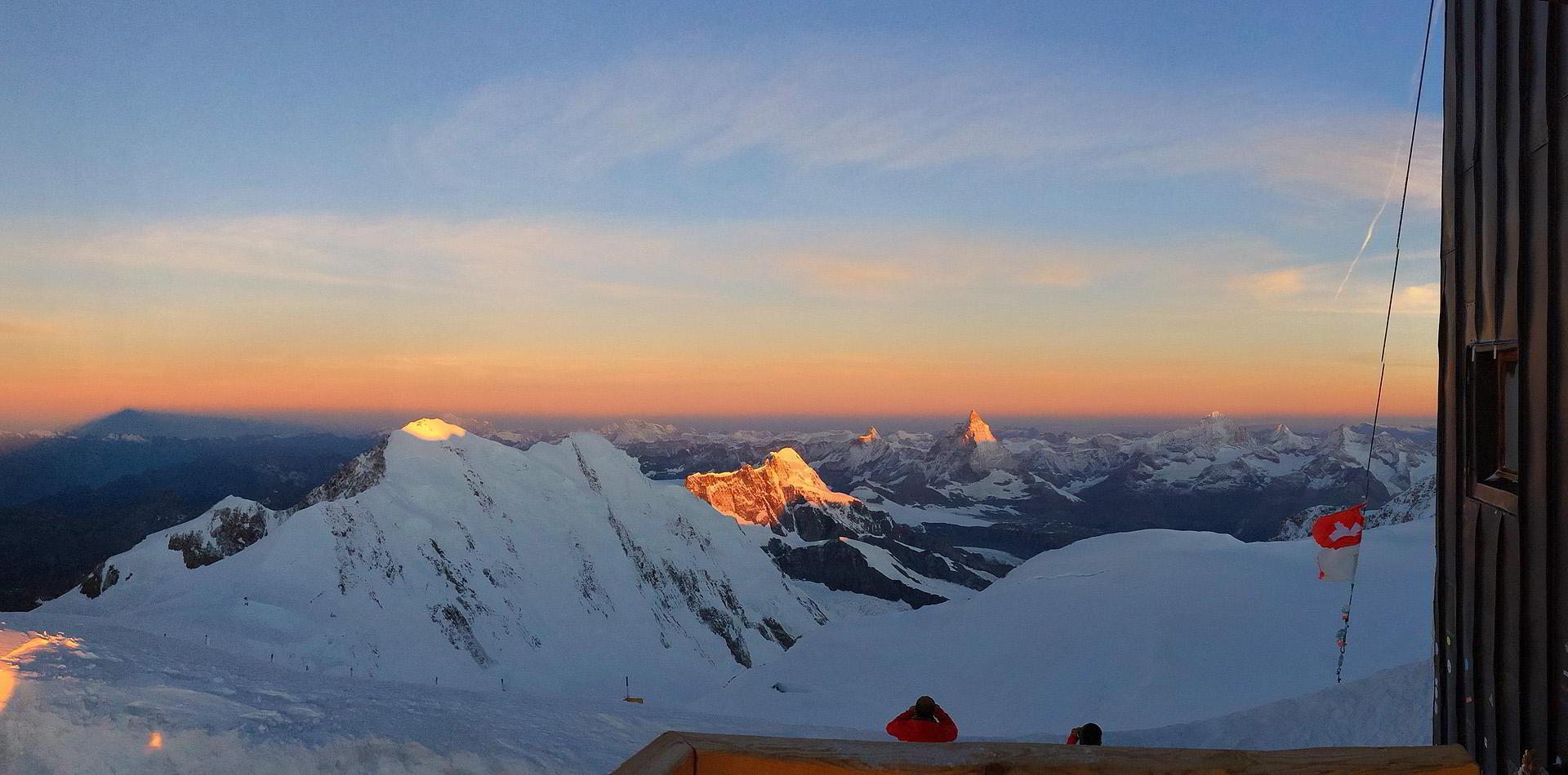 Hochtour Monte Rosa - Capanna Regina Margherita | Signalkuppe 4.554 m