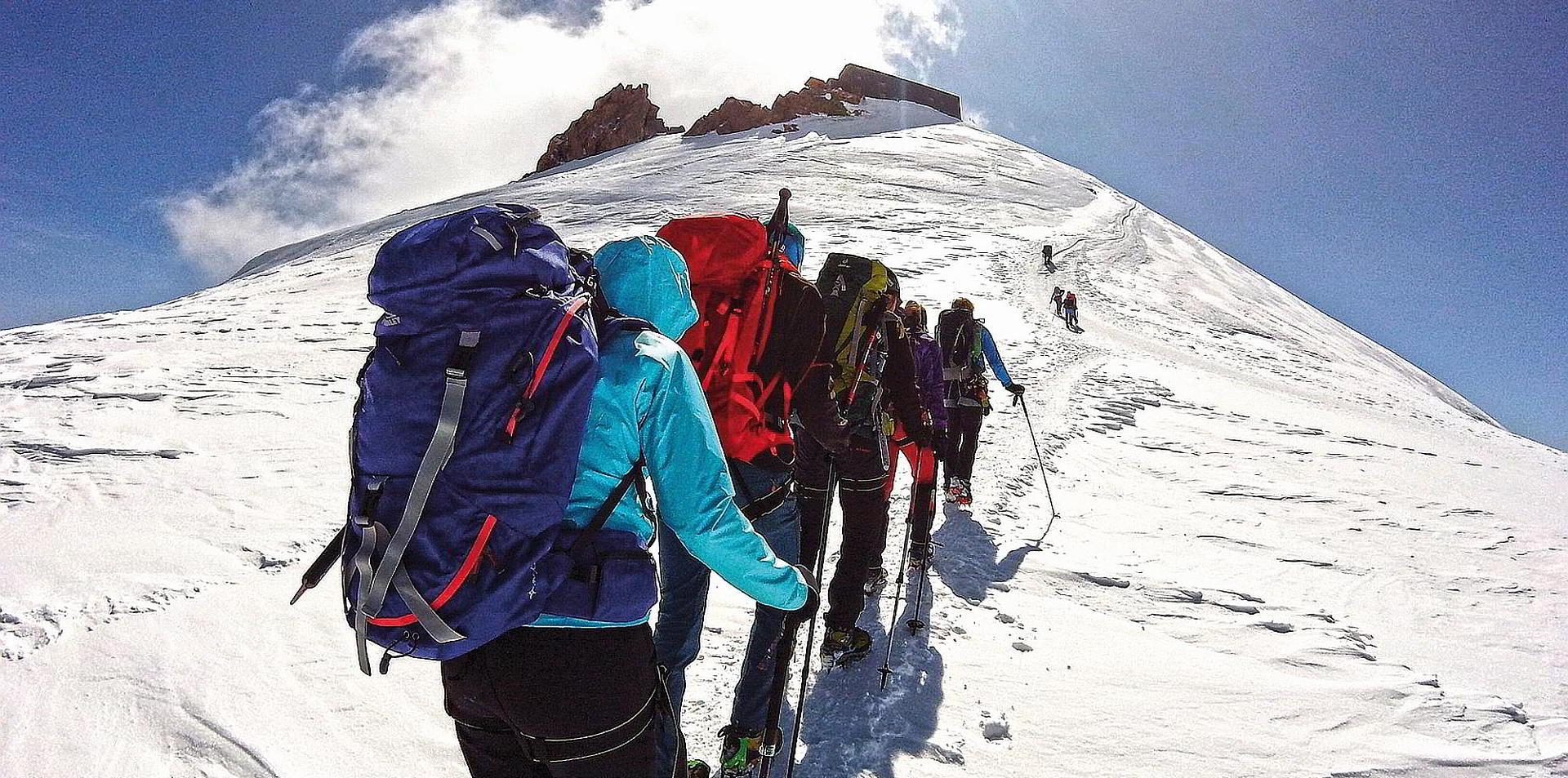 Hochtour Mont Rosa - Capanna Regina Margherita | Signalkuppe 4.554 m