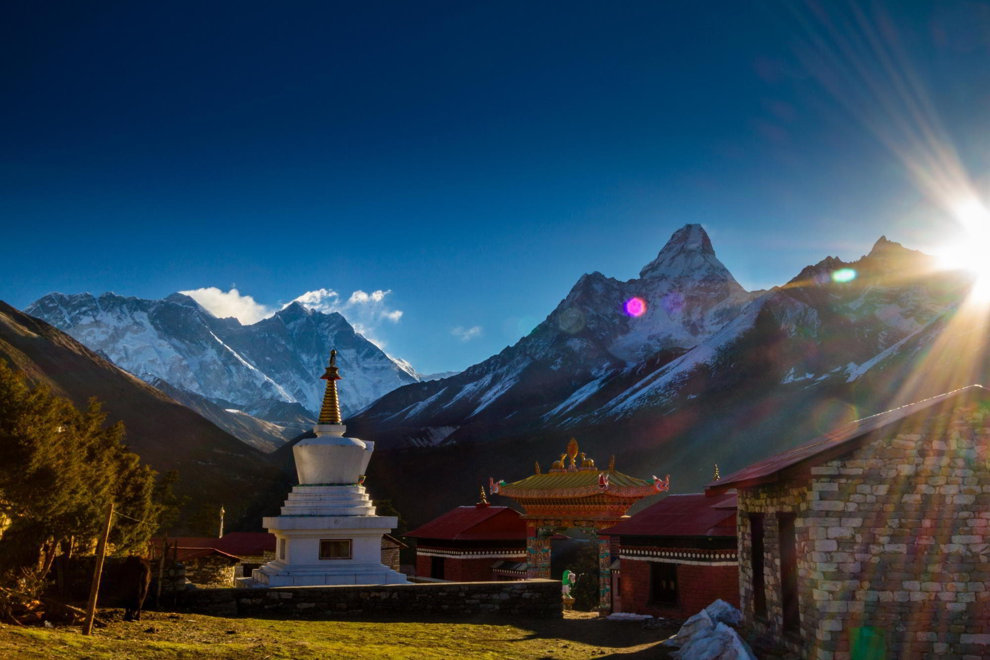 Khumbu Trek zum Everest