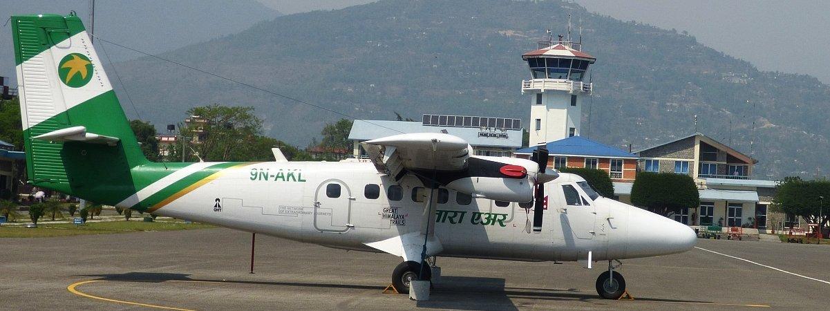 Nepal Flug