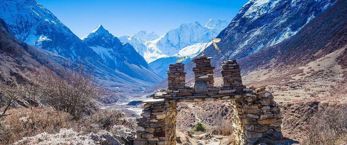 Nepal Trekking Manaslu Umrundung