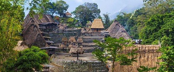 Dorf Komodo
