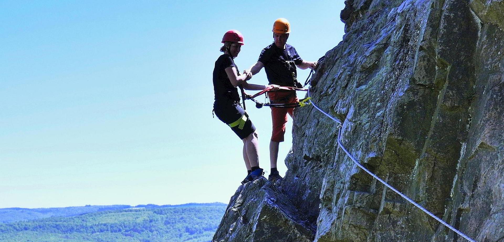 Klettersteigkurs Kirn/Hunsrück
