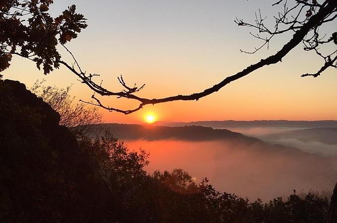 Sonnenaufgang Kirn