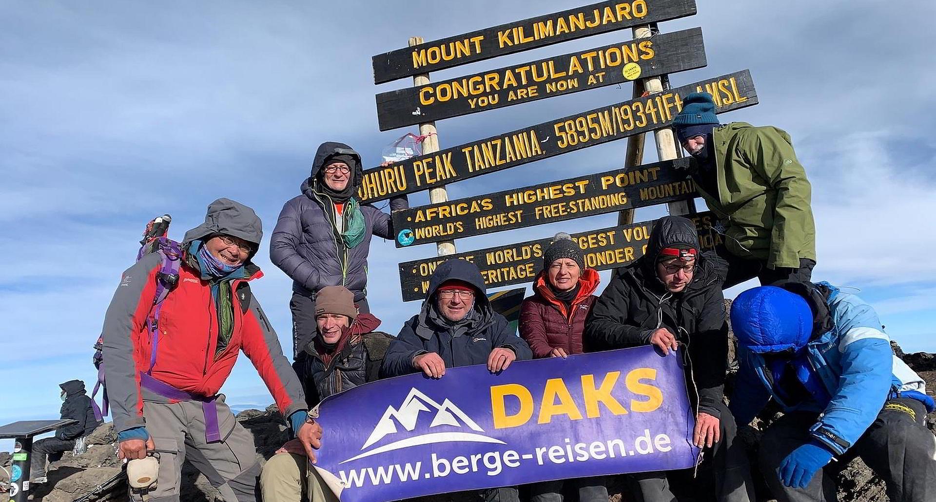 Kilimandscharo Besteigung 08-2019