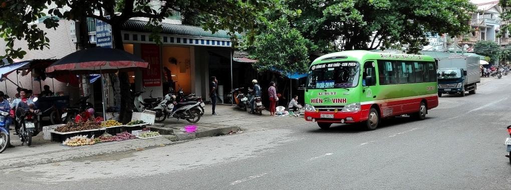 Vietnam Mai Chau Bus